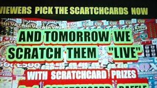 SCRATCHCARDS  PICK EM TODAY...WE SCRATCH EM TOMORROW
