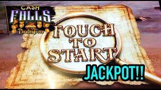 JACKPOT HANDPAY: New Cash Falls Slot (new slot - high limit play)