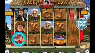 [CASH COW SLOTS GAMEPLAY]  'WGS (FORMERLY VEGAS TECHNOLOGY) GAMING'    PLAYSLOTS4REALMONEY