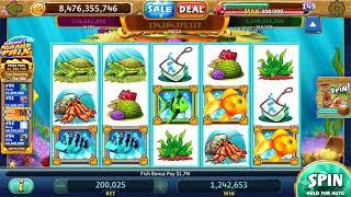 GOLD FISH Video Slot Casino Game with a PICK A BUBBLE BONUS