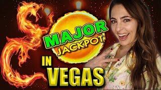 MASSIVE MAJOR JACKPOT HANDPAY on High Limit Dragon Cash in Vegas!!