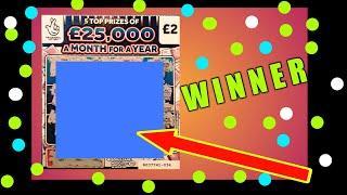 BIG SCRATCHCARD..GAME...CASH 7s DOUBLER..MILLIONAIRE MAKERS..LION DOUBLER