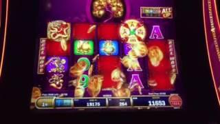 Tree of Wealth Rich Traditions Slot Machine Big Win Line Hit New York Casino Las Vegas