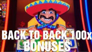 RARE Back to Back BIG WIN 100X Bonus wins on More More Chili Slot Machine  MUST SEE !