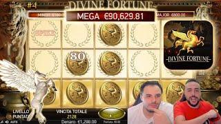 SLOT ONLINE - Proviamo a vincere 90.000€ alla DIVINE FORTUNE #4