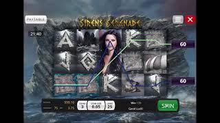 Sirens' Serenade slot from Genii - Gameplay