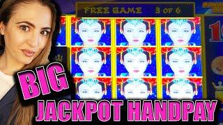 BIG HANDPAY JACKPOT on Autumn Moon Dragon Link on $62/SPIN!