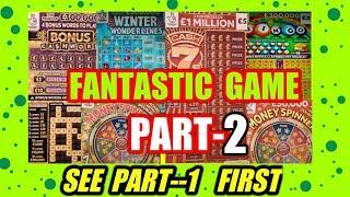 "Part --2...FANTASTIC  GAMESee Part 1 FirstScratchcards""Winter Wonderlines""Money Spinner""Cashword"""