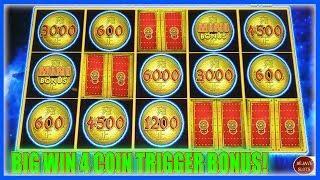 BIG WIN 4 COIN TRIGGER | HOLD & SPIN! DOLLAR STORM EMPEROR'S TREASURE