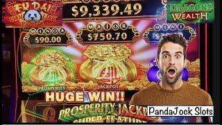 Surprise HUGE WIN! Fu Dai Lian Lian Panda (Bag Game) and Dragons Wealth