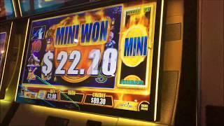 Bonsai & Adam in Vegas Part 1 - Fast Cash + Hangover Slot Machine Bonus