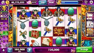 GRIFFIN'S GATE Video Slot Casino Game with a FREE SPIN BONUS