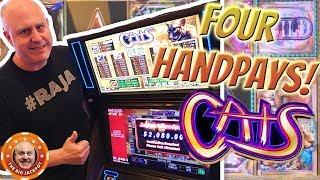 HIGH LIMIT • My Favorite WIN$ on Cats • The Big Jackpot