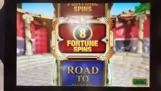 £50 Fortune Spins on Centurion Slot Machine William Hill