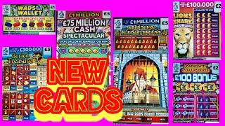 """SCRATCHCARDS..MONEY KINGDOM""""WADS IN WALLET""""GOLD 7s""""FULL 500"""