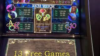 Rich Witch max bet bonus. Is it as good as people make out?