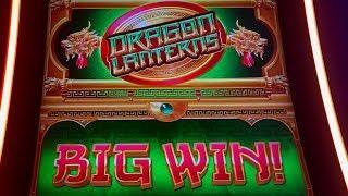 BIG WIN BONUS - Dragon Lanterns Slot Machine - First Attempt