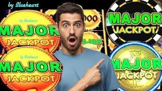 1,2,3,4? MAJOR JACKPOT FRENZY!!DOLLAR STORM slot machine HUGE WINS!