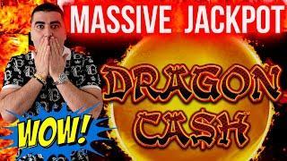 Dragon Cash Slot MASSIVE HANDPAY JACKPOT   Winning BIG MONEY In Las Vegas   SE-4   EP-28