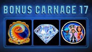 Bonus Carnage 17 - Octo-Blast, Buffalo Diamond, Village People Slots!