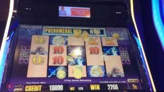 OG TimberWolf Slot Machine Nice Bonus - Aristocrat