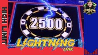 •High Limit Lightning Link High Stakes Jackpot Handpay Bonus Hold and Spin Feature