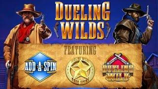 """""""NEW GAME!! FROM IT"""" *DUELING WILDS* (LIVE PLAY) #FREE SPINS WITH RE-TRIGGERS#"""