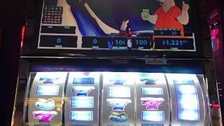 VGT 9 Line Polar High Roller, High Limit, Great run!! $.10 Machine  - Red Screens!!
