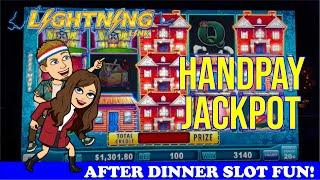 HIGH LIMIT Lightning Link Happy Lantern & Huff 'n Puff HANDPAY JACKPOT $25+ Live Play Slot Machines