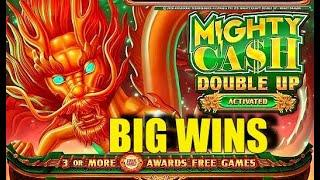 BIG WINS!! Mighty Cash Double Up High Limit