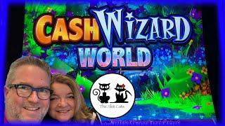 NEW Cash Wizard World ‍️ Monopoly Hot Properties  WOF Cash Link