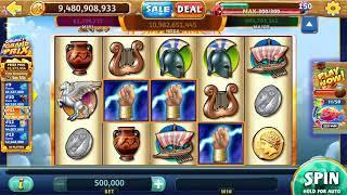 "ZEUS Video Slot Casino Game with a ""BIG WIN"" FREE SPIN BONUS"