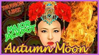 HIGH LIMIT Dragon Link Autumn Moon & Golden Century MAJOR HANDPAY JACKPOT  $50 Bonus Round Slot
