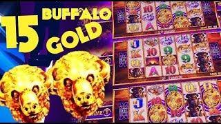 • RARE DOUBLE SUPER GAMES • MEGA WIN! BUFFALO GOLD slot machine SUPER GAMES WIN!