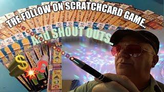 •Follow on game Scratchcards•&•Shoutouts•Here we GoooooOOOOO!!!•