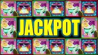 MY WIFE GIVES ME AN ATTITUDE AND HITS THIS JACKPOT! HIGH LIMIT SLOTS