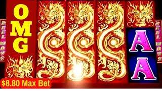 Mega Big Win Tree of Wealth Slot Machine $8.80 Max Bet BONUS | Better Than JACKPOT HANDPAY