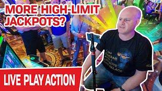 More LIVE High-Limit SLOT JACKPOTS at The Casino?  LET'S DO THIS THING!