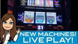 NEW HIGH LIMIT SLOT MACHINES! Live play in Vegas & Winstar Casino