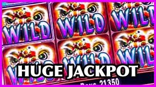 LION DANCE SLOT/ HIGH LIMIT/ JACKPOT/ MAX BETS