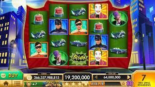BATMAN Video Slot Casino Game with a FREE SPIN BONUS