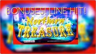 **Northern Treasure | Treasure Voyage | Happy Lantern Bonus/Lightning Link Hit**