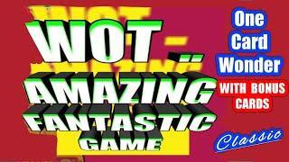 What a GAME...What FANTASTIC Scratchcards....Amazing Classic Game... mmmmmmMMM