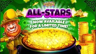 New Featured All-Star for St. Patrick's Day | Jackpot Party Casino Slots