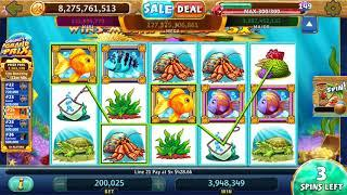 "GOLD FISH Video Slot Casino Game with a ""HUGE WIN"" GOLD FISH BONUS"