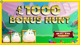 BIG BONUS HUNT: Sweet Success MEGAWAYS, LEGACY OF DEAD, DEAL or NO Deal MEGAWAYS !!!