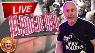 • LIVE Back In Atlantic City HIGH LIMIT Slot Jackpots! •