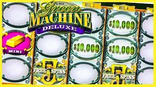 HUGE JACKPOT/ GREEN MACHINE DELUXE JACKPOT/ HIGH LIMIT/ LIMITE ALTO/ MUCHO DINERO SLOTS