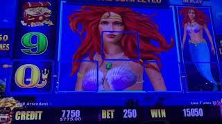 Double Top Dollar $30/Spin - Magic Pearl Lightning Link High Limit Slot Play