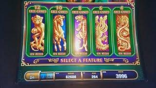Tree of Wealth Slot Machine Bonus and  Progressive Wins
